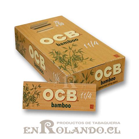 Papelillos OCB Bamboo - Display
