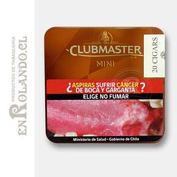 Purito Clubmaster Mini Brown 20 uds ($7.800 x Mayor)