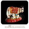 Vaca Metálica Esmaltada ($2.990 x Mayor)