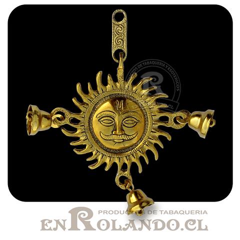 Figura Sol y Campanas para Colgar #446 ($5.990 x Mayor)