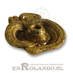 Porta Incienso Metal Diseño #412 ($3.990 x Mayor)