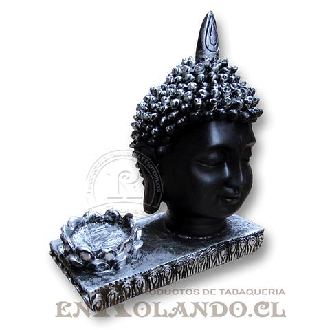 Porta Vela Rostro Buda #7577-155A ($7.990 x Mayor)