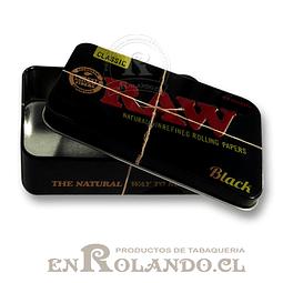 Caja Metálica Raw Black XL ($1.490 x Mayor)