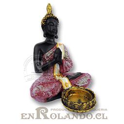 Porta Vela Buda Orando #7577-442 ($9.990 x Mayor)