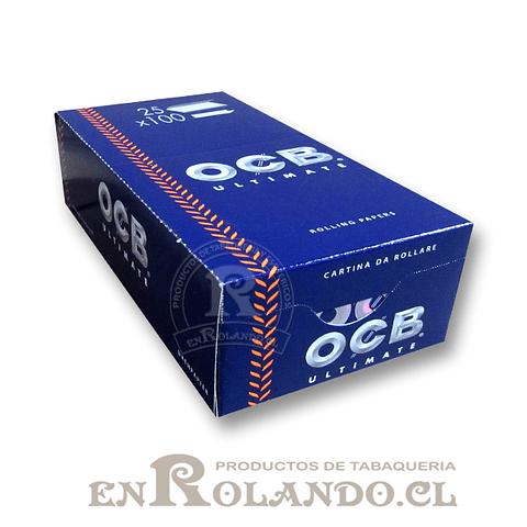 Papelillos OCB Ultimate  #1 - Doble - Display