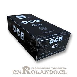 Papelillos OCB Premium #1 - Doble - Display