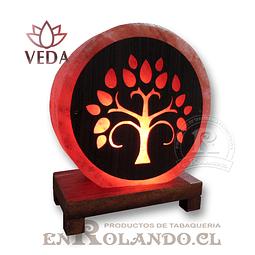 Lampara de Sal 3D Arbol de la Vida ($24.990 x Mayor)