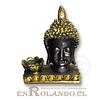 Porta Vela Rostro Buda #7577-155B ($5.990 x Mayor)