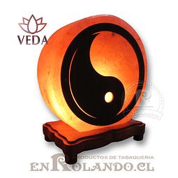 Lampara de Sal 3D Ying Yang ($24.990 x Mayor)