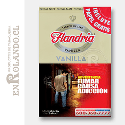 Tabaco Flandria Vainilla 40 grs ($7.800 x Mayor)