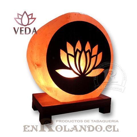 Lampara de Sal 3D Lotus ($24.990 x Mayor)