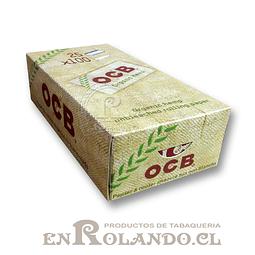 Papelillos OCB Cáñamo Orgánico #1 - Doble - Display