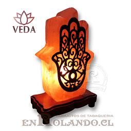 Lampara de Sal 3D Mano Espiritual ($24.990 x Mayor)