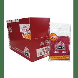 Filtros Gizeh Slim - Bolsa ($690 x Mayor)