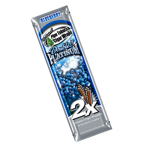 Blunt Wrap Platinum Blueberry ($500 x Mayor)