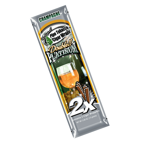 Blunt Wrap Platinum Champagne ($500 x Mayor)