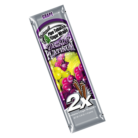 Blunt Wrap Platinum Grape ($500 x Mayor)