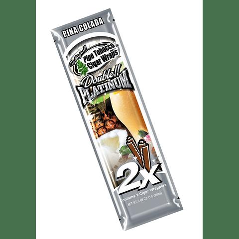 Blunt Wrap Platinum Piña Colada ($500 x Mayor)