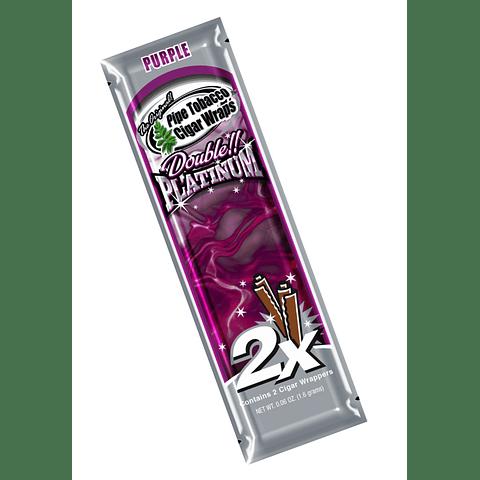 Blunt Wrap Platinum Purple ($500 x Mayor)