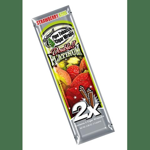 Blunt Wrap Platinum Strawberry Kiwi ($500 x Mayor)
