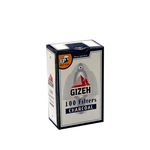 Filtros Gizeh de Carbón Activado - Cajetilla ($790 x Mayor)