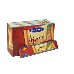 Incienso Satya Ajaro - 12 Cajitas de 15 grs.