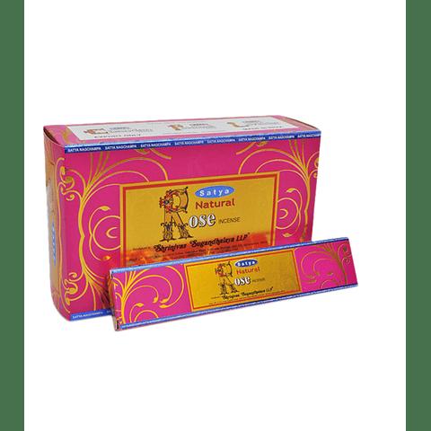 Incienso Satya Rosa - 12 Cajitas de 15 grs.