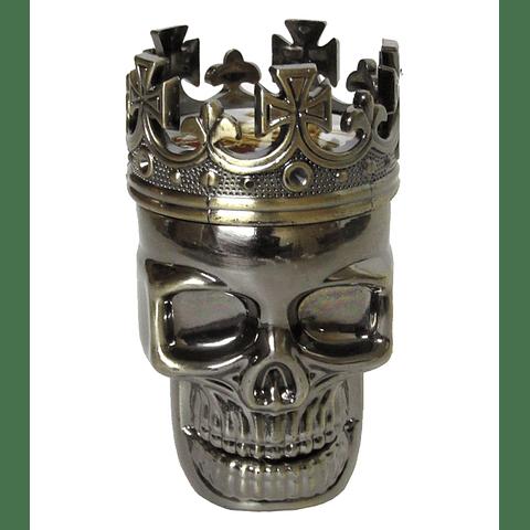Moledor (Grinder) Metálico Calavera - 3 Pisos ($2.490 x Mayor)
