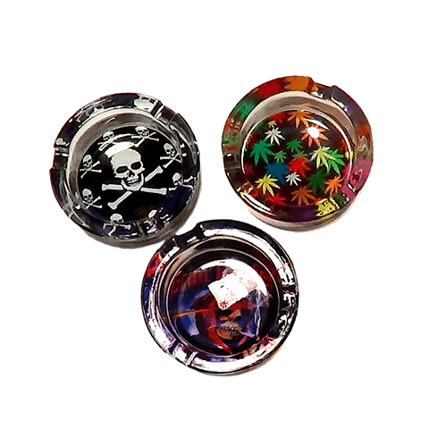 Cenicero Vidrio Diseños ($1.190 x Mayor)