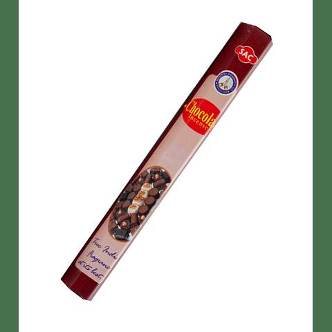 """Incienso SAC """"Chocolate"""" ($1.600 x MAYOR) - 120 varas"""