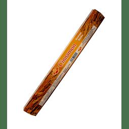 "Incienso SAC  ""Canela"" Caja de 6 Hexágonos  - 120 varas"
