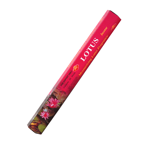 """Incienso SAC  """"Flor de Loto"""" Caja de 6 Hexágonos - 120 varas"""