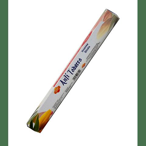 "Incienso SAC  ""Anti Tabaco"" Caja de 6 Hexágonos  - 120 varas"
