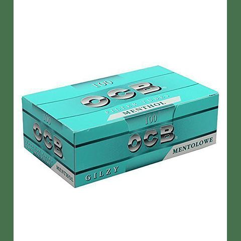 Tubos con Filtro OCB Menthol - Cajetilla ($790 x Mayor)