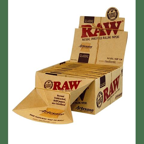 Papelillos RAW Artesano - Display