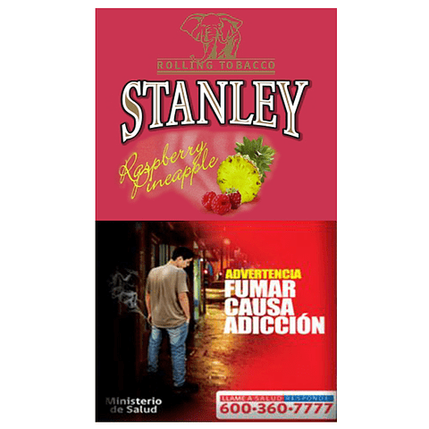 Tabaco Stanley Frambuesa y Piña ($6.490 x Mayor)