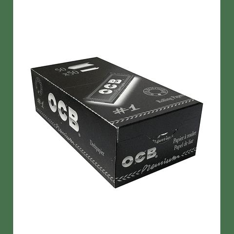 Papelillos OCB Premiun  #1 - 50 libritos - Display