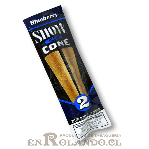 Blunt Show Cone Blueberry ($566 x Mayor)