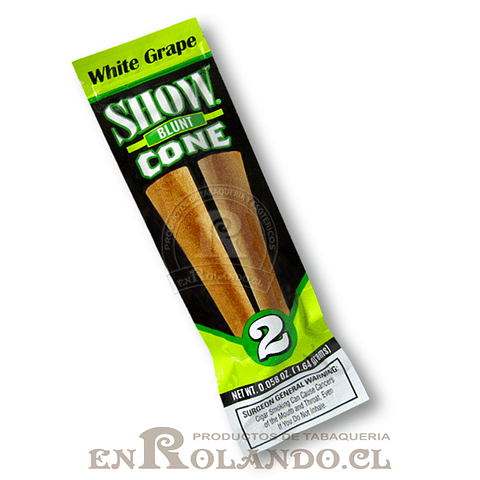 Blunt Show Cone White Grape ($566 x Mayor)