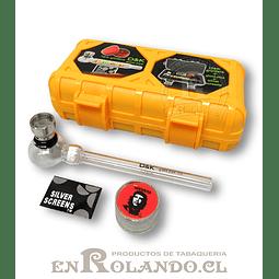 Kit Pipa de Vidrio D & K con Estuche ($3.490 x Mayor)