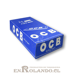 Papelillos OCB Azul #1 - 25 libritos - Display