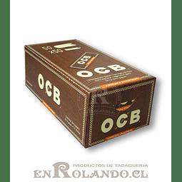 Papelillos OCB Virgin  #1 - 50 libritos - Display