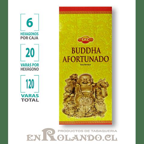 "Incienso SAC  ""Buddha Afortunado"" ($1.600 x MAYOR)- 120 varas"