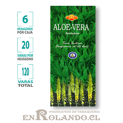 "Incienso SAC  ""Aloe Vera"" - 120 varas"