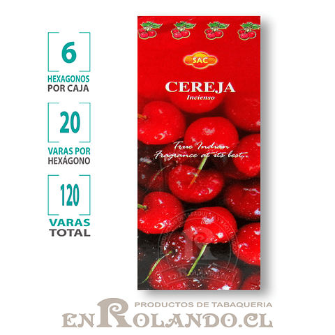 "Incienso SAC ""Cereza"" - 120 varas"