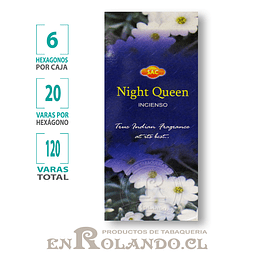 "Incienso SAC ""Night Queen"" - 120 varas"