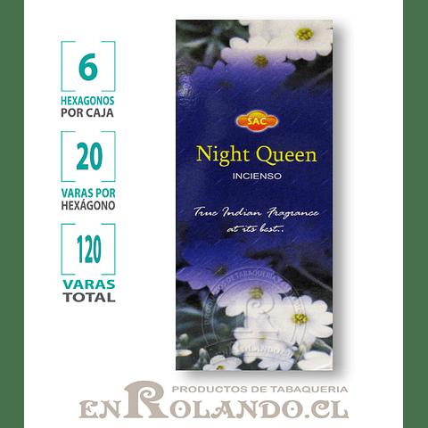 """Incienso SAC """"Night Queen"""" - 120 varas"""