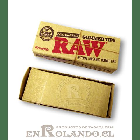 Boquillas (Tips) Raw Engomadas - Display