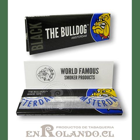 Papelillos The Bulldog Black 1 1/4 - Display