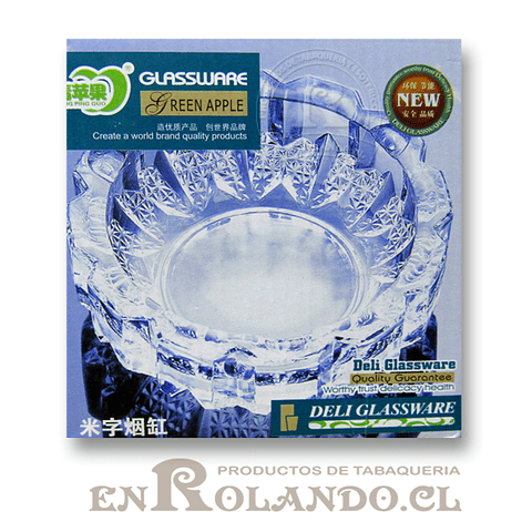 Cenicero Cristal ($1.990 x Mayor)